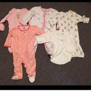 Other - 3-6 Month Baby Infant Girl Bundle 5 Pieces